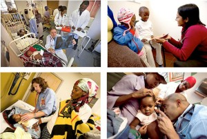 Access to medicine is essential for children affected by malaria