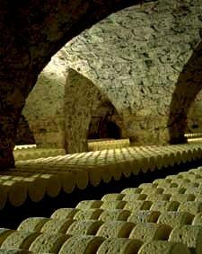 """Cuevas de """"Roquefort"""" - Francia - Denominación de Origen Protegida"""