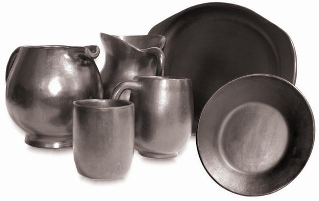 Ceramica Negra de Chamba - Colombia - Marca Colectiva